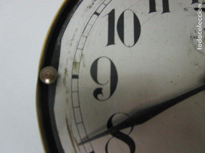 Relojes de pared: Antiguo Reloj de Barco - Marca Junghans - Reloj Pared - Funciona - Años 20-30 - Foto 9 - 225308272