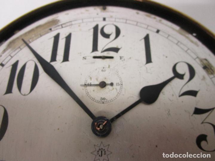 Relojes de pared: Antiguo Reloj de Barco - Marca Junghans - Reloj Pared - Funciona - Años 20-30 - Foto 10 - 225308272