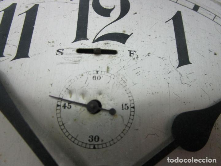 Relojes de pared: Antiguo Reloj de Barco - Marca Junghans - Reloj Pared - Funciona - Años 20-30 - Foto 11 - 225308272