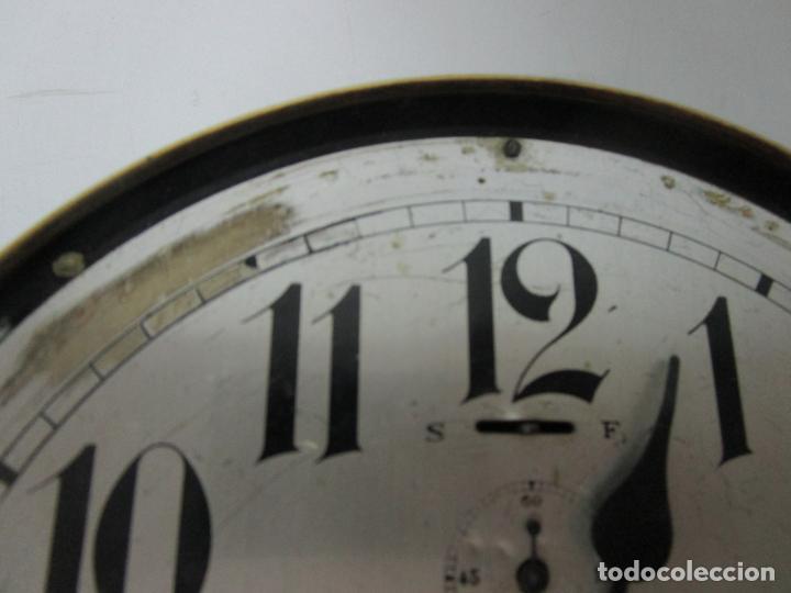 Relojes de pared: Antiguo Reloj de Barco - Marca Junghans - Reloj Pared - Funciona - Años 20-30 - Foto 13 - 225308272