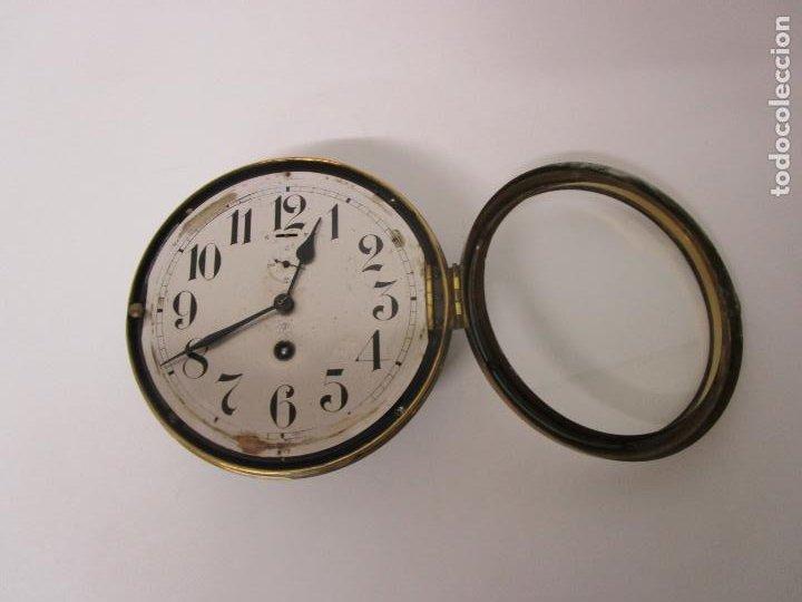 Relojes de pared: Antiguo Reloj de Barco - Marca Junghans - Reloj Pared - Funciona - Años 20-30 - Foto 14 - 225308272