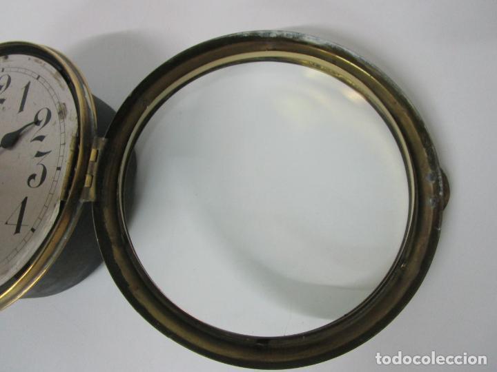 Relojes de pared: Antiguo Reloj de Barco - Marca Junghans - Reloj Pared - Funciona - Años 20-30 - Foto 16 - 225308272