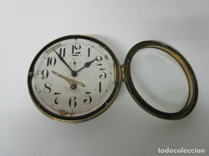 Relojes de pared: Antiguo Reloj de Barco - Marca Junghans - Reloj Pared - Funciona - Años 20-30 - Foto 18 - 225308272