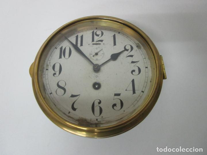 Relojes de pared: Antiguo Reloj de Barco - Marca Junghans - Reloj Pared - Funciona - Años 20-30 - Foto 20 - 225308272