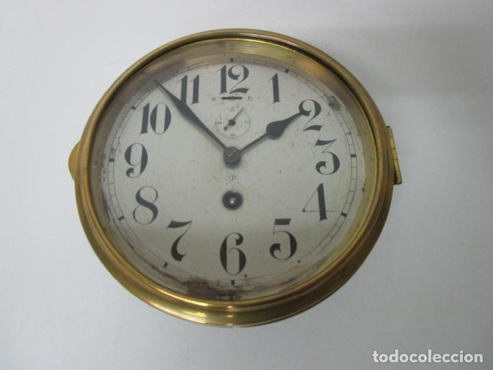 Relojes de pared: Antiguo Reloj de Barco - Marca Junghans - Reloj Pared - Funciona - Años 20-30 - Foto 24 - 225308272