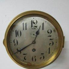 Relojes de pared: ANTIGUO RELOJ DE BARCO - MARCA JUNGHANS - RELOJ PARED - FUNCIONA - AÑOS 20-30. Lote 225308272