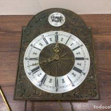 Relojes de pared: ANTIGUO RELOJ DE PARED TEMPUS FUGIT - PARA PIEZAS O RECAMBIOS. Lote 225497800