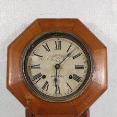 Relojes de pared: RELOJ ANTIGUO AMERICANO MARCA ACCURATE - AMERICAN SYSTEM. Lote 244632800