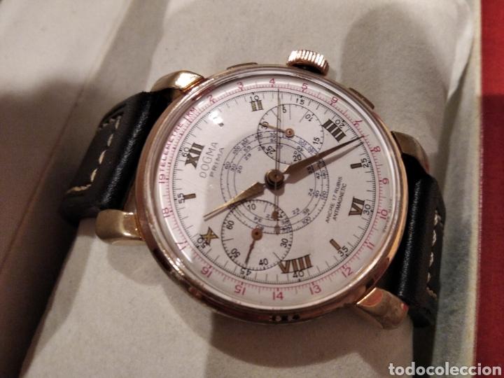 Relojes de pared: Reloj crono Dogma. De gran tamaño 38 mm Cauny citizen Duward seiko - Foto 6 - 226128048