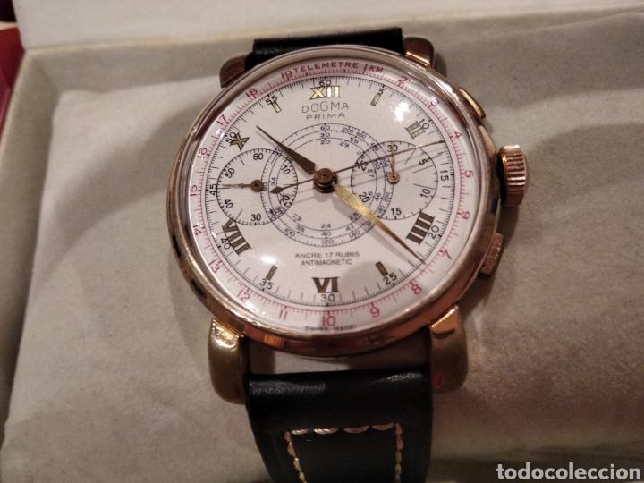 Relojes de pared: Reloj crono Dogma. De gran tamaño 38 mm Cauny citizen Duward seiko - Foto 7 - 226128048