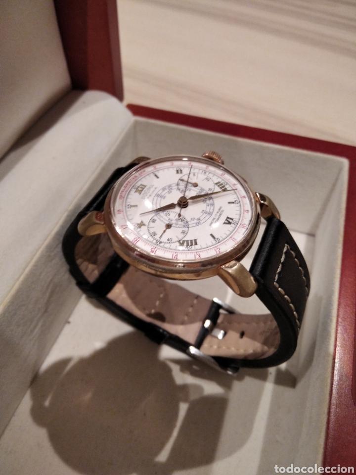 Relojes de pared: Reloj crono Dogma. De gran tamaño 38 mm Cauny citizen Duward seiko - Foto 12 - 226128048