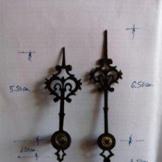 Relojes de pared: MANILLAS O AGUJAS ORIGINALES PARA REGULADOR ALEMÁN.. Lote 226479490