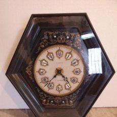 Relojes de pared: RELOJ DE PARED NAPOLEON MARQUETERIA BOULLE. Lote 226963920
