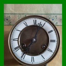 Relojes de pared: MAQUINARÍA ESFERA DIAM. 15CM. MARCA JUNGHANS ALEMANA. FUNCIONANDO. Lote 227133310