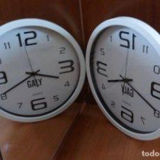 Relojes de pared: RELOJ DE PELUQUERÍA (35 CM). POEMA OBJETO DE GALY. Lote 228068500