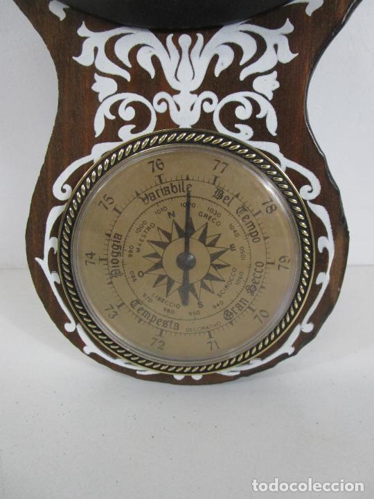 Relojes de pared: Reloj de Pared, Barómetro, Higrómetro, Termómetro - Excelente Decoración - con Caja - Años 70 - Foto 3 - 228098975