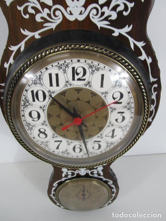 Relojes de pared: Reloj de Pared, Barómetro, Higrómetro, Termómetro - Excelente Decoración - con Caja - Años 70 - Foto 4 - 228098975