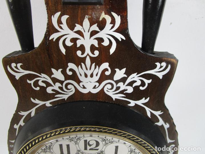 Relojes de pared: Reloj de Pared, Barómetro, Higrómetro, Termómetro - Excelente Decoración - con Caja - Años 70 - Foto 5 - 228098975
