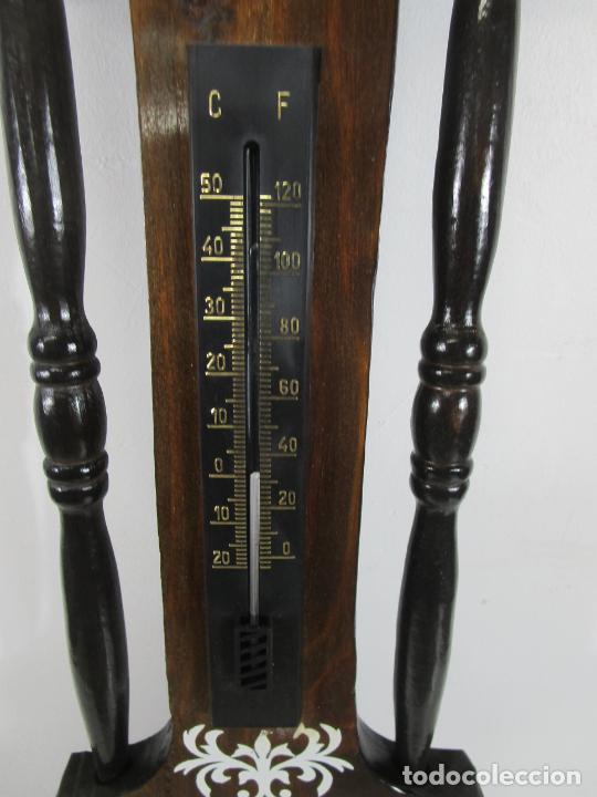 Relojes de pared: Reloj de Pared, Barómetro, Higrómetro, Termómetro - Excelente Decoración - con Caja - Años 70 - Foto 6 - 228098975