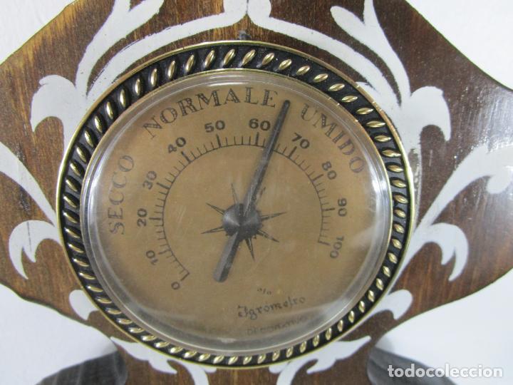 Relojes de pared: Reloj de Pared, Barómetro, Higrómetro, Termómetro - Excelente Decoración - con Caja - Años 70 - Foto 9 - 228098975