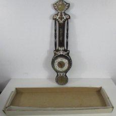 Relojes de pared: RELOJ DE PARED, BARÓMETRO, HIGRÓMETRO, TERMÓMETRO - EXCELENTE DECORACIÓN - CON CAJA - AÑOS 70. Lote 228098975