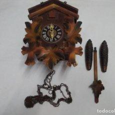 Relojes de pared: PRECIOSO RELOJ CUCO (GULA) ALBERT SCHWAB KARLSRUHE (WEST GERMANY). Lote 229015380