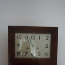Relojes de pared: ANTIGUO RELOJ DE PARED CON LLAVE. Lote 229298220