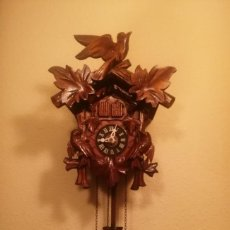 Relojes de pared: PEQUEÑO RELOJ CUCU-CUCO MADE IN GERMANY(SELVA NEGRA).. Lote 230087265