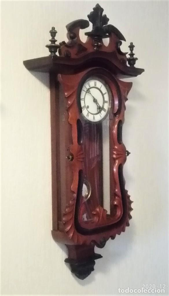 Relojes de pared: Reloj de pared estilo Biedermeier - Foto 2 - 230611170