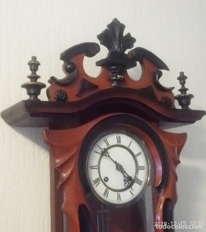 Relojes de pared: Reloj de pared estilo Biedermeier - Foto 3 - 230611170