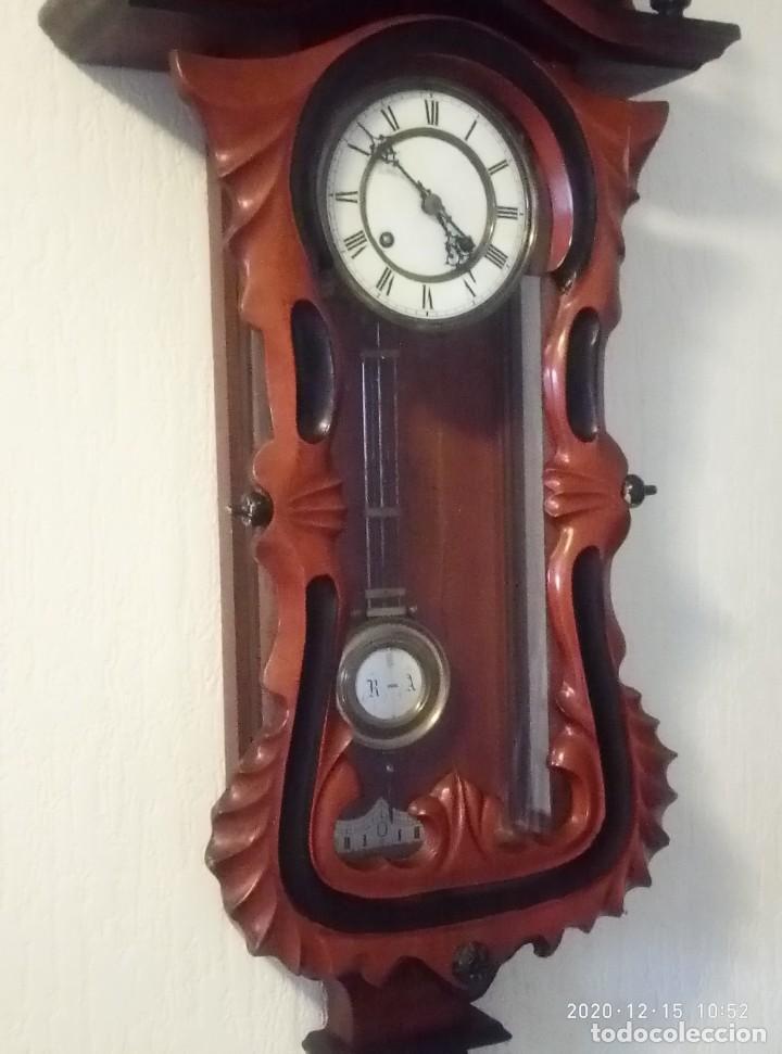 Relojes de pared: Reloj de pared estilo Biedermeier - Foto 4 - 230611170