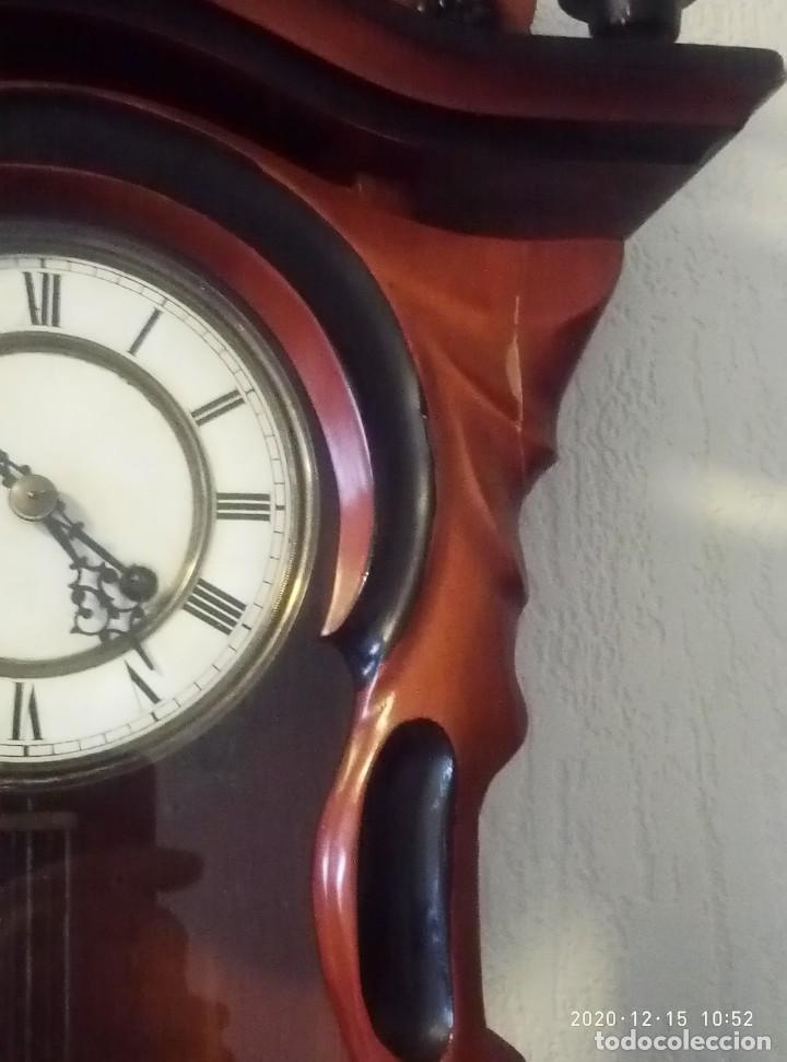 Relojes de pared: Reloj de pared estilo Biedermeier - Foto 5 - 230611170