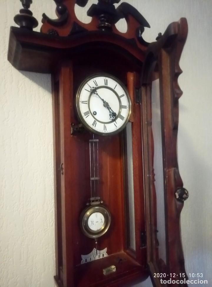 Relojes de pared: Reloj de pared estilo Biedermeier - Foto 8 - 230611170