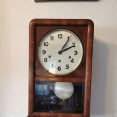 Relojes de pared: PRECIOSO RELOJ DE PARED MADE IN GERMANY CON SONERIA. Lote 230895155