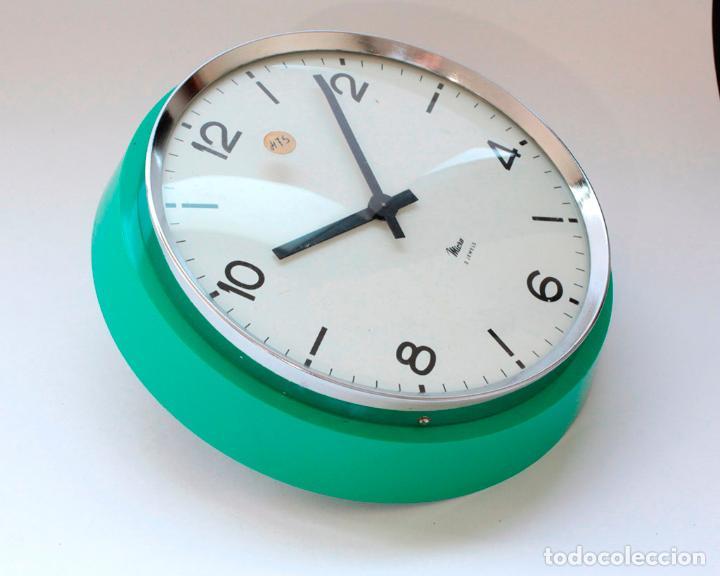 Relojes de pared: Reloj vintage de cocina o pared Micro mecánico, Nuevo de antiguo stock! NO Funciona - Foto 2 - 231224875