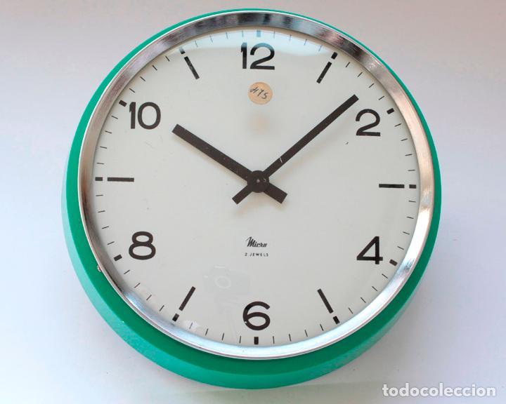 Relojes de pared: Reloj vintage de cocina o pared Micro mecánico, Nuevo de antiguo stock! NO Funciona - Foto 3 - 231224875
