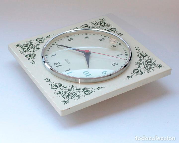 Relojes de pared: Reloj vintage de cocina o pared Gong electromecánico, Nuevo de antiguo stock! NO Funciona - Foto 4 - 231227550