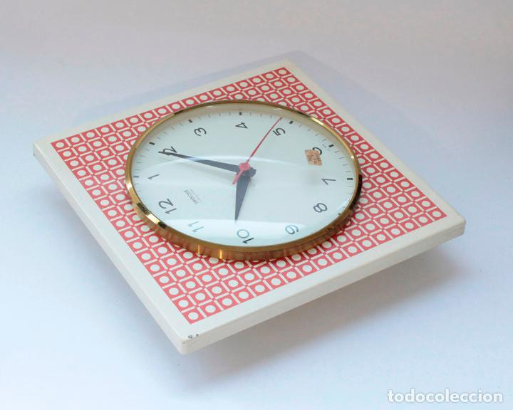 Relojes de pared: Reloj vintage de cocina o pared Gong electromecánico, Nuevo de antiguo stock! Funciona. - Foto 4 - 231228160