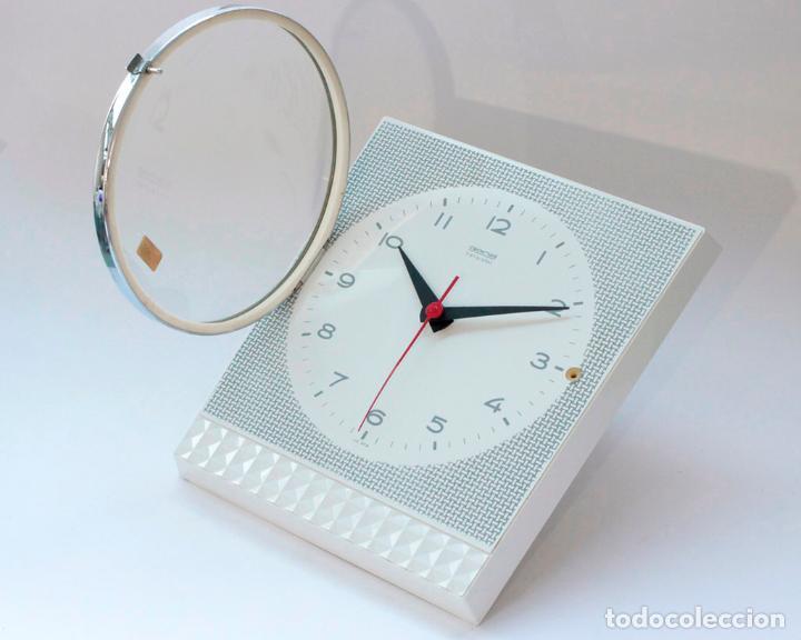 Relojes de pared: Reloj vintage de cocina o pared Gong electromecánico, Nuevo de antiguo stock! Funciona y se para - Foto 4 - 231230410