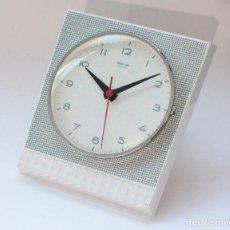 Relojes de pared: RELOJ VINTAGE DE COCINA O PARED GONG, NUEVO DE ANTIGUO STOCK! CAJA ORIGINAL! FUNCIONA Y SE PARA.. Lote 231313555