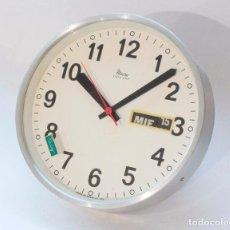 Relojes de pared: RELOJ VINTAGE DE COCINA O PARED MICRO ELECTROMECÁNICO, DE ANTIGUO STOCK! NO FUNCIONA. Lote 231502330