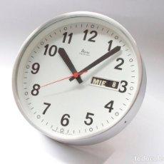 Relojes de pared: RELOJ VINTAGE DE COCINA O PARED MICRO ELECTROMECÁNICO, DE ANTIGUO STOCK! NO FUNCIONA. Lote 231502645