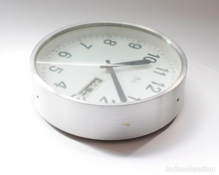 Relojes de pared: Reloj vintage de cocina o pared Micro electromecánico, de antiguo stock! NO Funciona - Foto 3 - 231502885