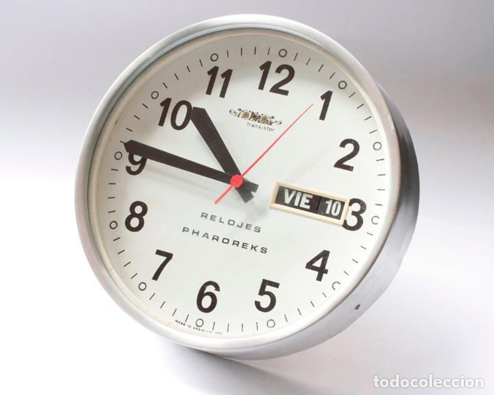 RELOJ VINTAGE DE COCINA O PARED MICRO PHAROREKS (A CORUÑA) ELECTROMECÁNICO, NO FUNCIONA (Relojes - Pared Carga Manual)