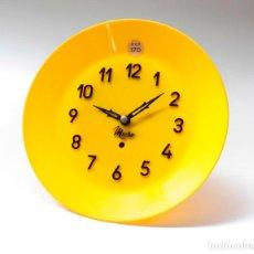Relojes de pared: RELOJ VINTAGE DE COCINA O PARED MICRO MECÁNICO PLATO, DE ANTIGUO STOCK! NO FUNCIONA. VER FOTOS. Lote 231511730