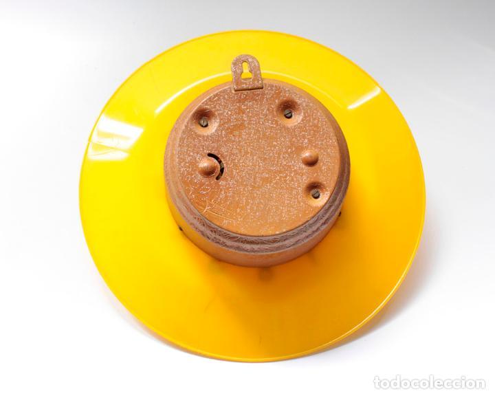 Relojes de pared: Reloj vintage de cocina o pared Micro mecánico plato, de antiguo stock! NO Funciona. ver fotos - Foto 6 - 231512235