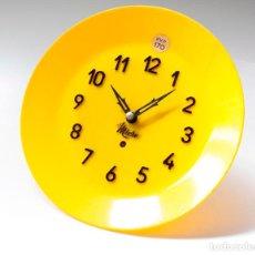 Relojes de pared: RELOJ VINTAGE DE COCINA O PARED MICRO MECÁNICO PLATO, DE ANTIGUO STOCK! NO FUNCIONA. VER FOTOS. Lote 231512235