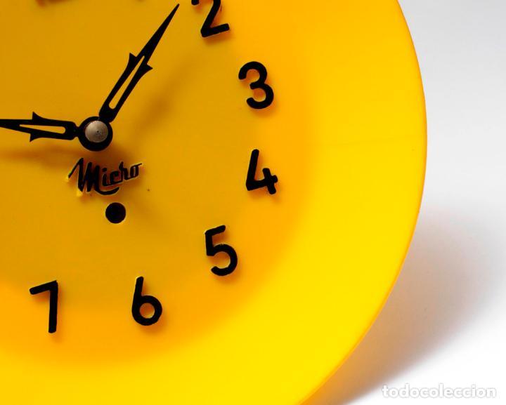 Relojes de pared: Reloj vintage de cocina o pared Micro mecánico plato, de antiguo stock! NO Funciona. ver fotos - Foto 5 - 231512425
