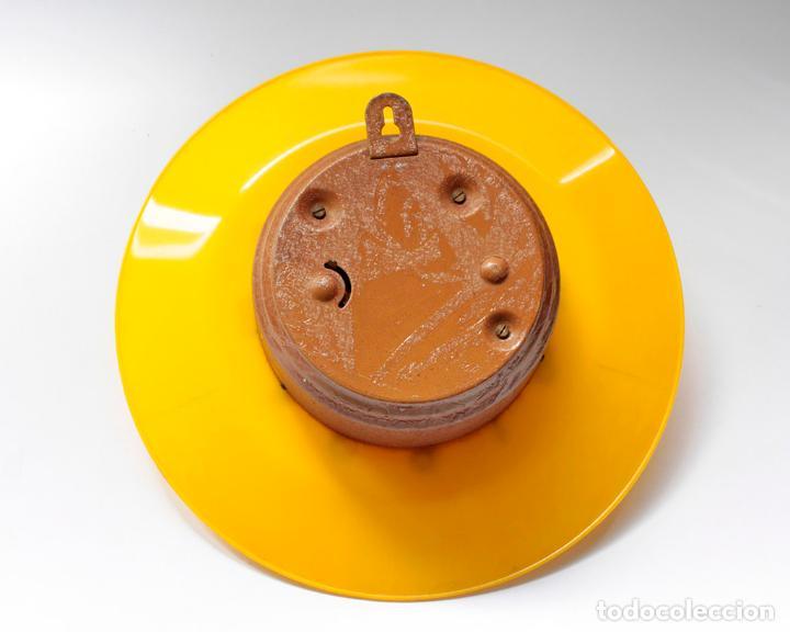 Relojes de pared: Reloj vintage de cocina o pared Micro mecánico plato, de antiguo stock! NO Funciona. ver fotos - Foto 6 - 231512425