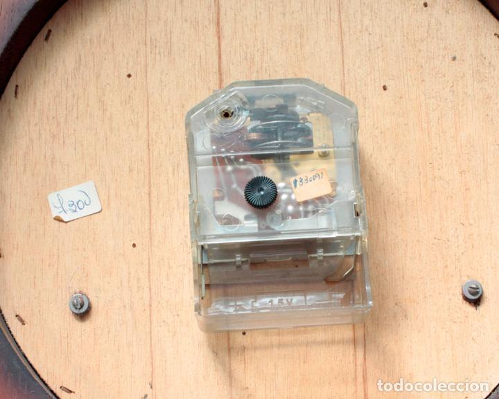 Relojes de pared: Reloj vintage de pared Jaz electromecánico, de antiguo stock! Funciona. - Foto 6 - 231513655